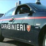 carabinieri - auto di fianco - molto bella