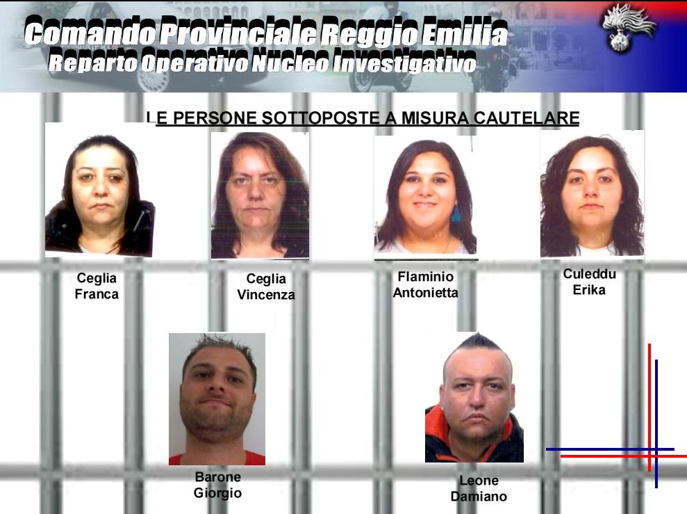 Reggio Emilia, scoperta banda di truffatrici, 500 colpi in tutta Italia